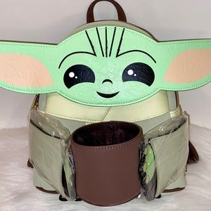 Star Wars The Child with Cup Figural Backpack NWT